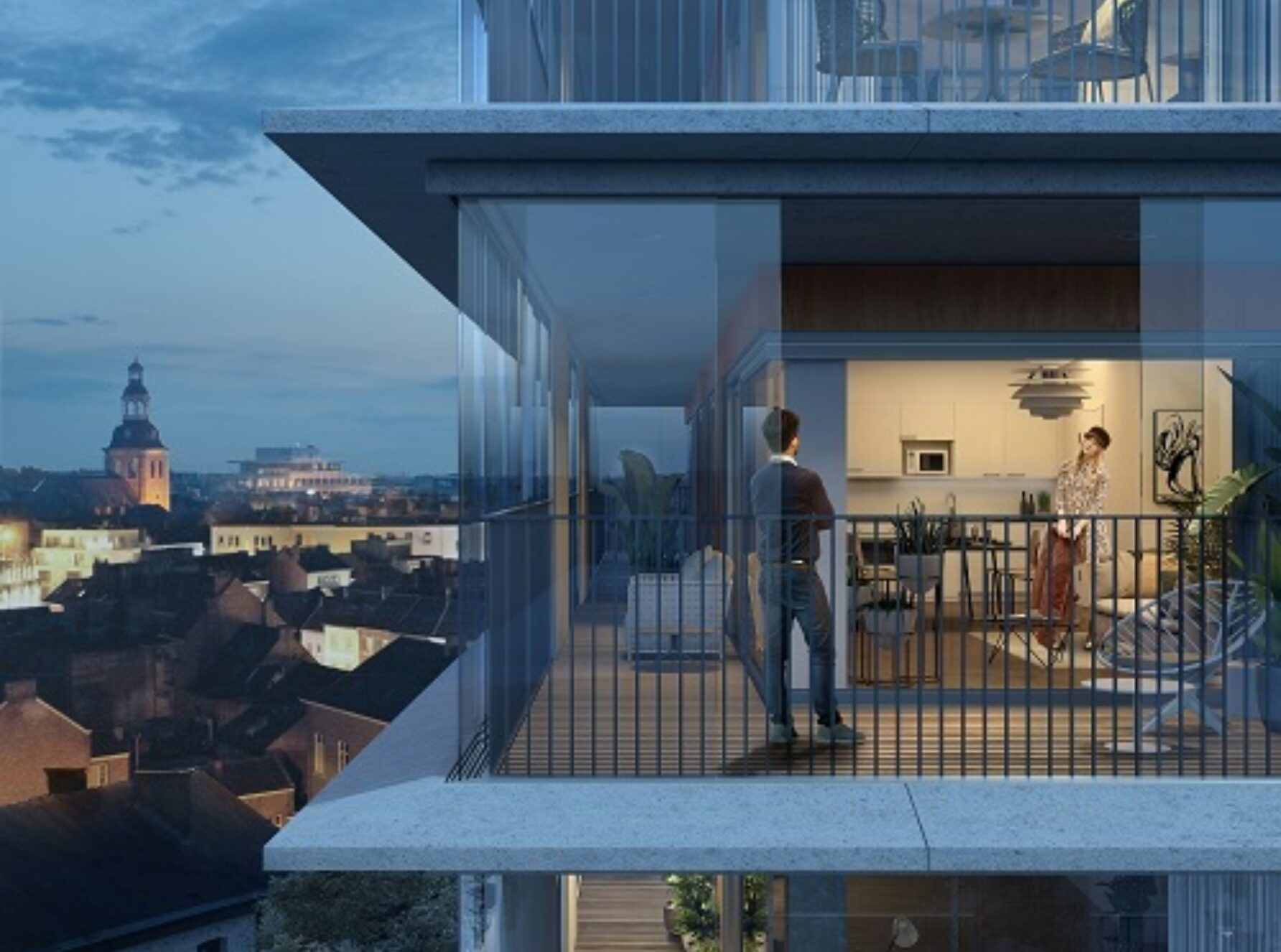 Kolmont Refuga Urban Villa Hasselt corner suites