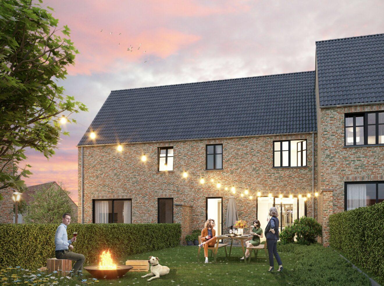 Kolmont huis te koop aanbod tuin woning lr
